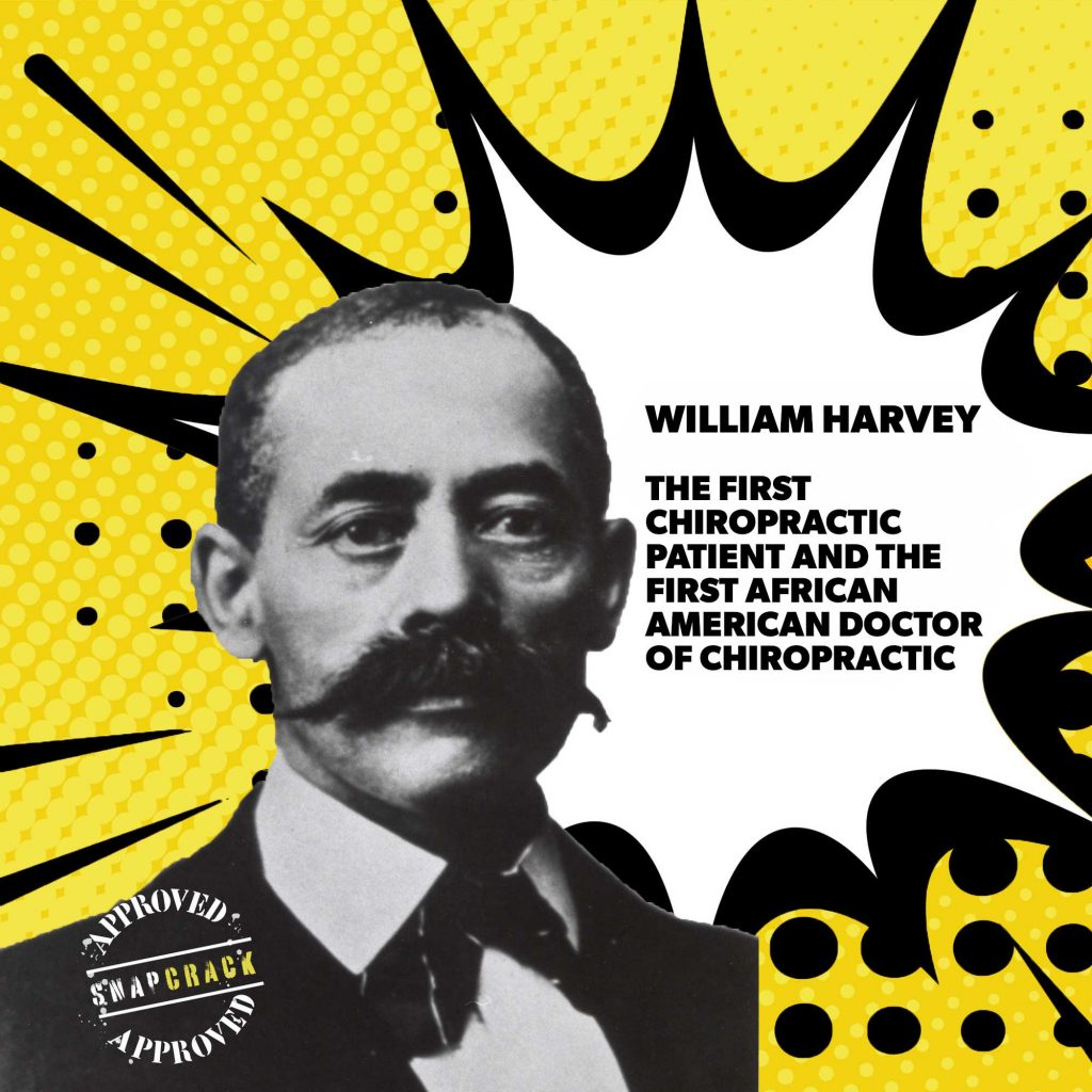 A poster of william harvey