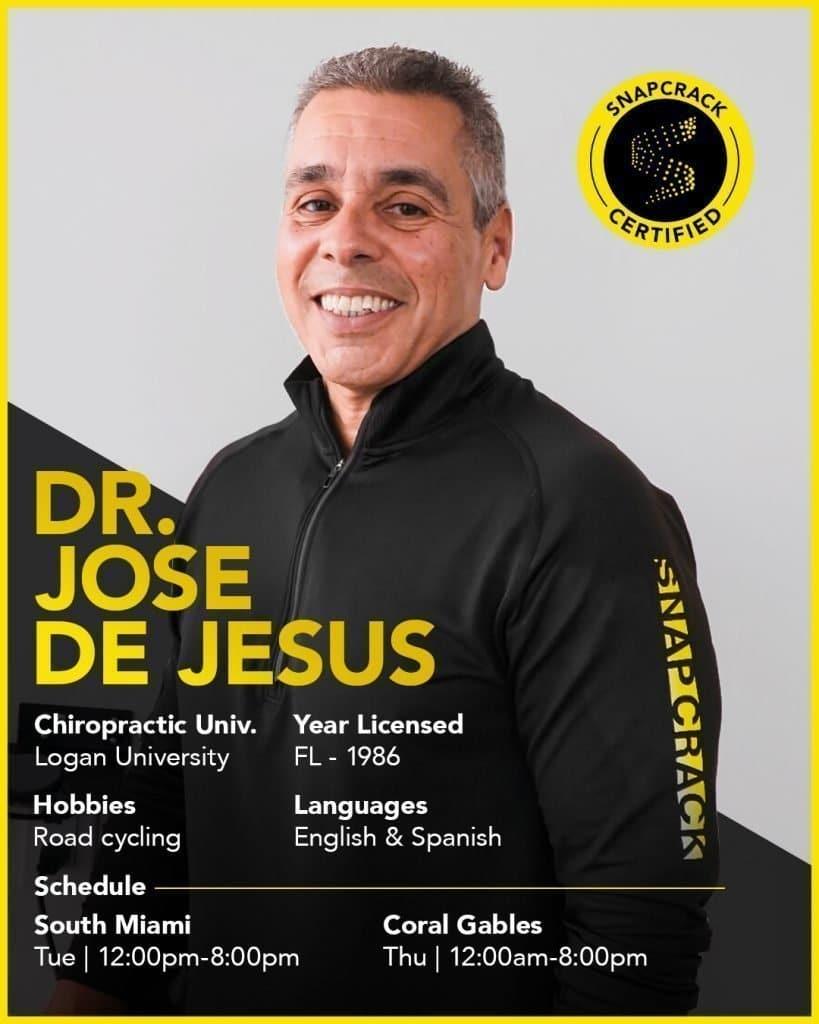 dr de jesus chiropractor miami fl