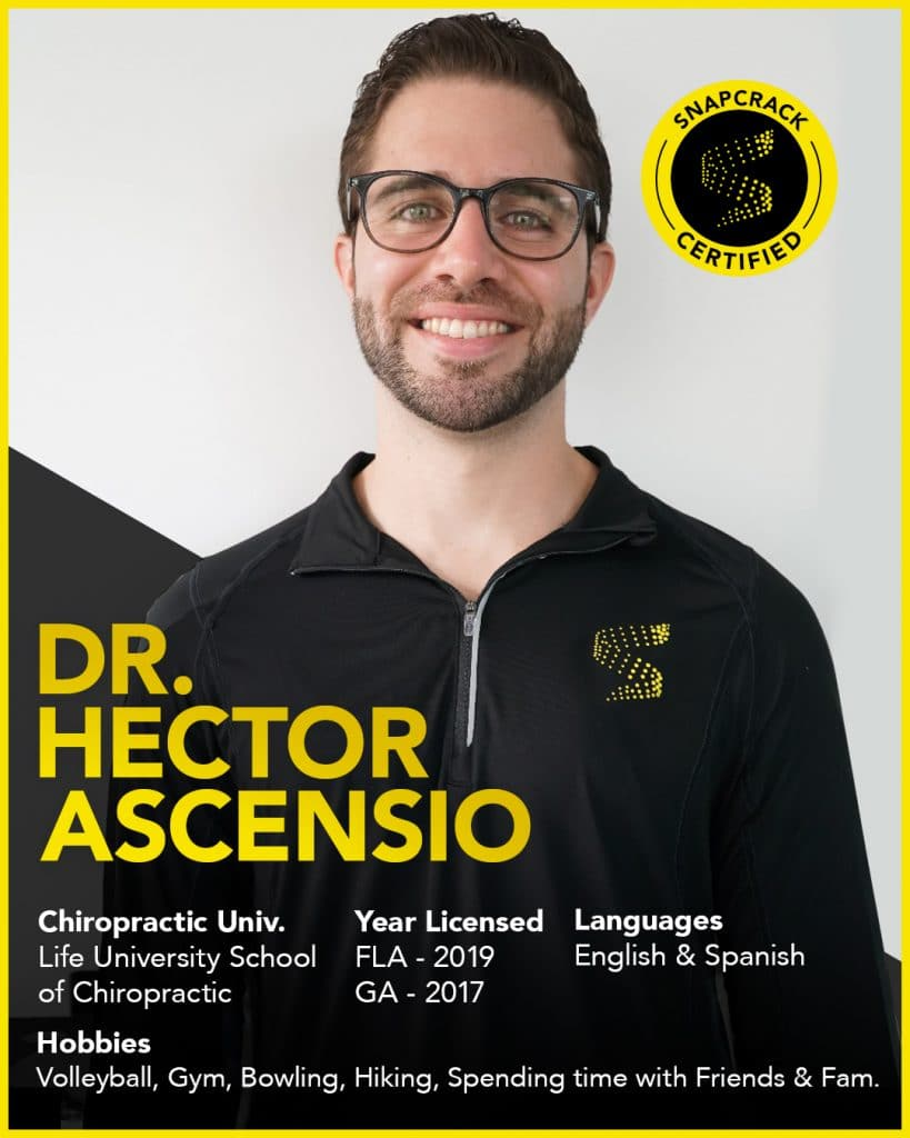 Dr. Hector Ascensio smiling