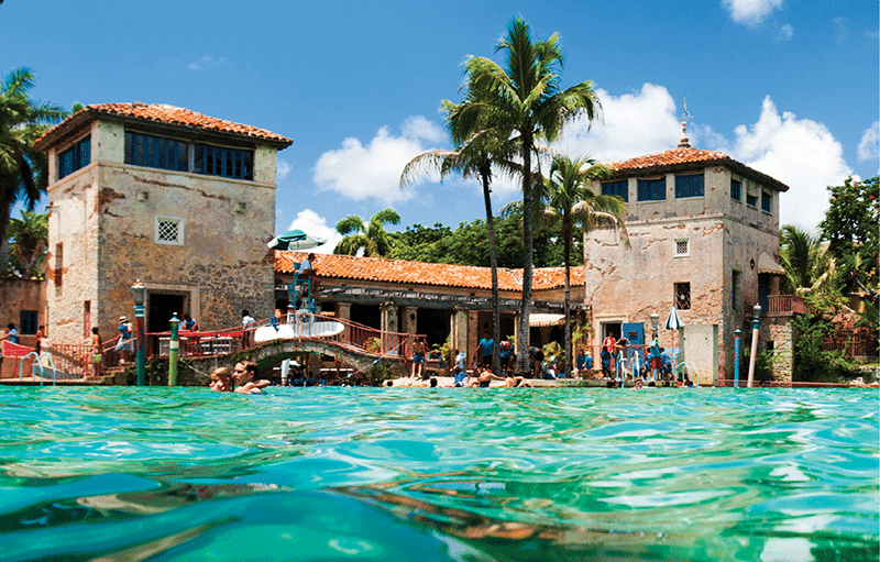 water view of the venetian pool