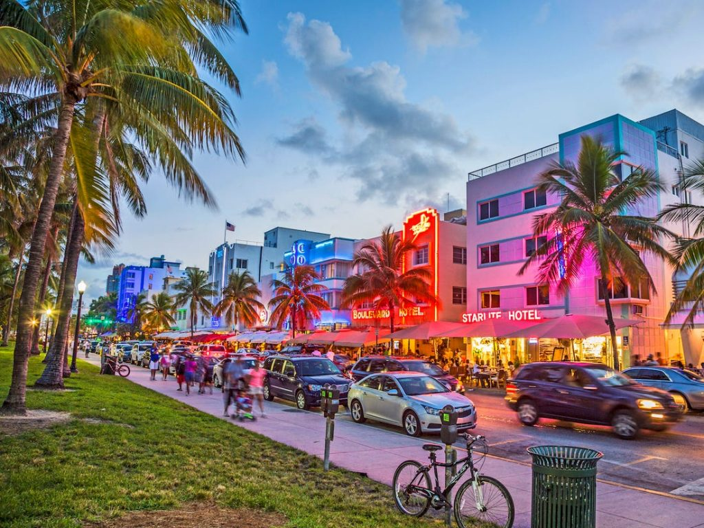 street view of south beach