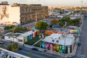 aerial view of wynwood