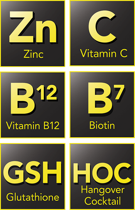 vitamin symbols