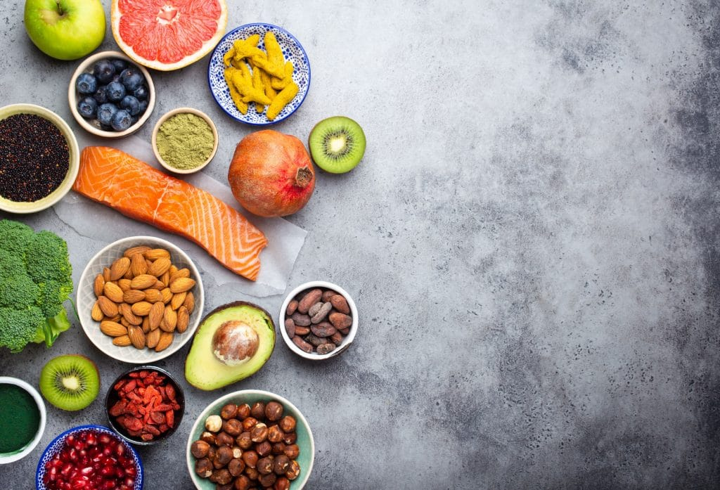 Here are a few super foods for a super human