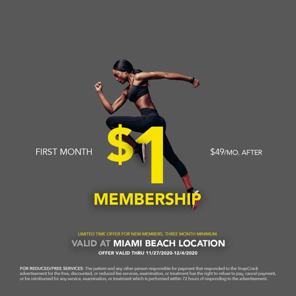 1 dollar membership image